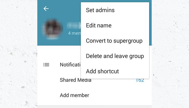 آموزش تصویری ساخت سوپر گروه supergroup