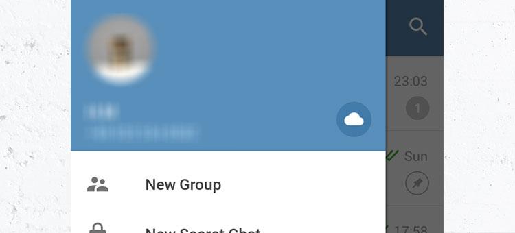 آموزش دسترسی به فضای ابری تلگرام