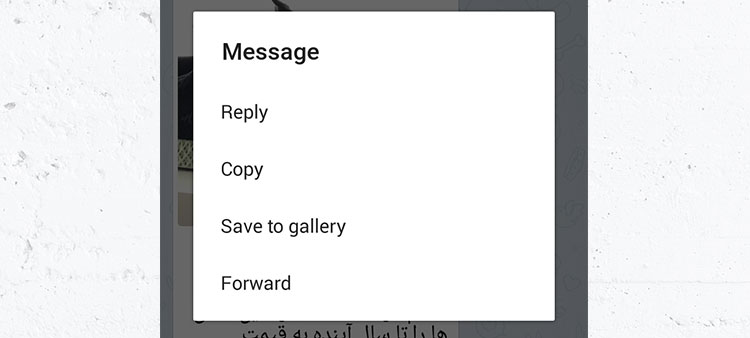آموزش ذخیرهی عکس، ویدیو و فایل موجود در تلگرام، در گوشی