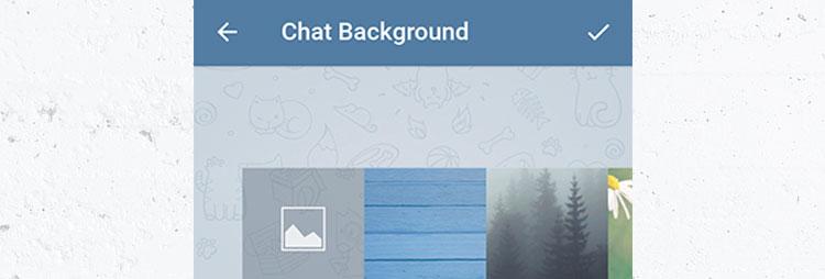 آموزش نحوه تغییر تصویر زمینهی چتها در تلگرام